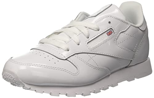 Reebok Classic Leather Patent, Zapatillas de Deporte para Niñas, Blanco (White 000)