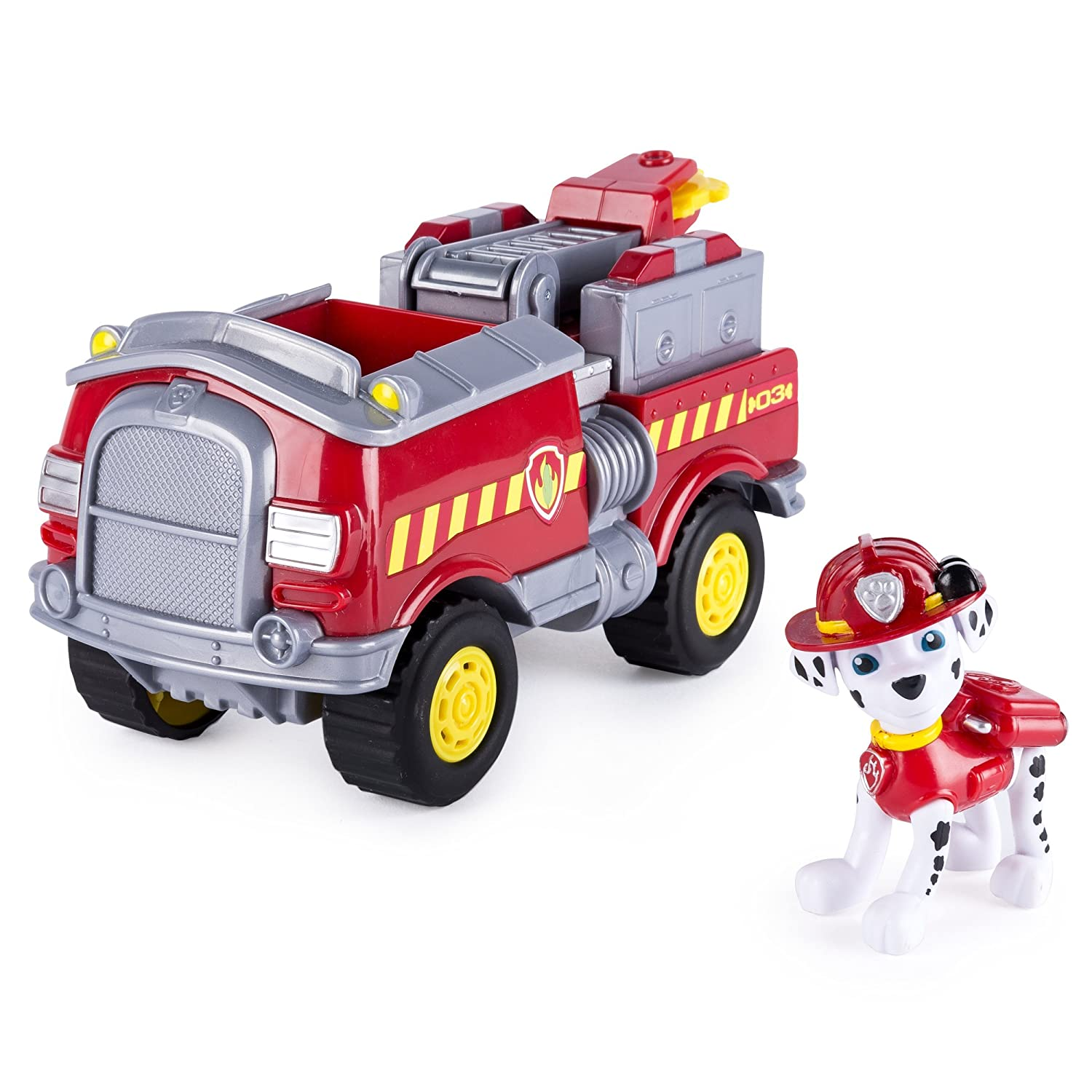 Paw Patrol 6037954 Con Marshall S Forest Vehiculo Con 6037954