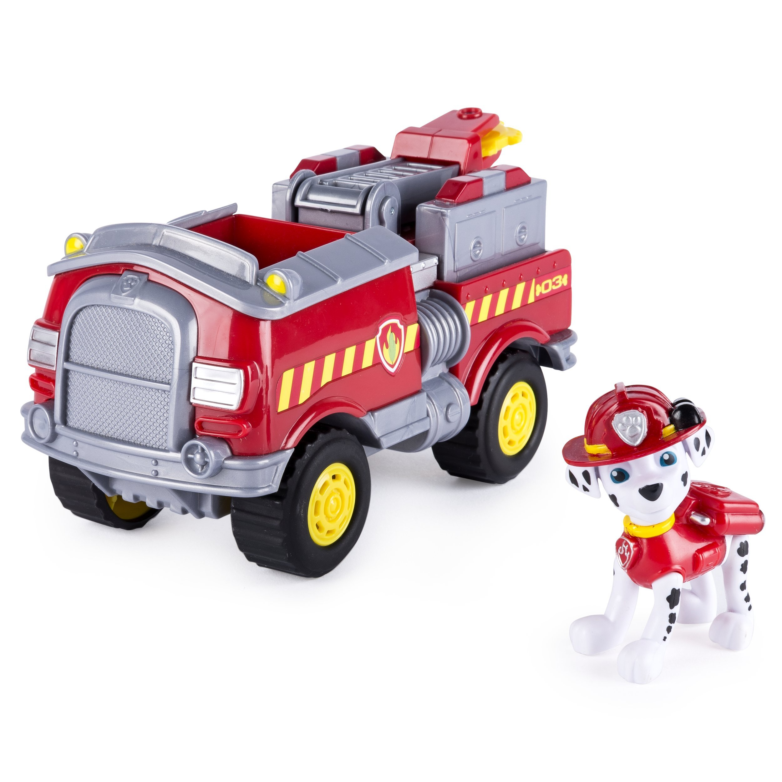Paw Patrol - Marshall's Forest Fire Truck Vehicle - Figure and Vehicle by Paw Patrol