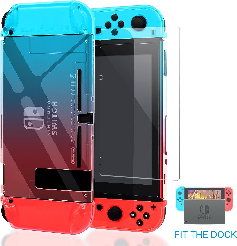 FastSnail - Funda con Tapa para Nintendo Switch, Compatible con ...