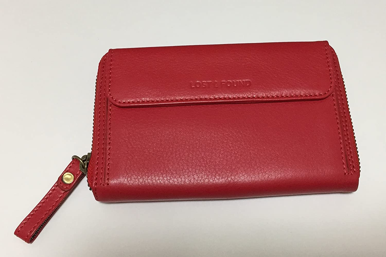[スモールサイズ] スマホ入れ、お財布になる 「スマホウォレット」 iPhone5, 6など小さいスマホ向け / スイス発のカーフレザー製ウォレット designed by Switzerland  タンジェリンレッド B073ZGX2M7