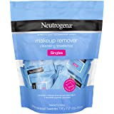 Makeup Remover Cleansing Towelette Singles Individually Wrapped, 20 Pre-moistened Towelettes (Pack of 2)