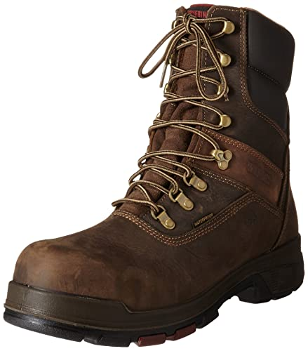 78ca0a49ea0 Wolverine Men's Cabor Waterproof 8-Inch Work Boot