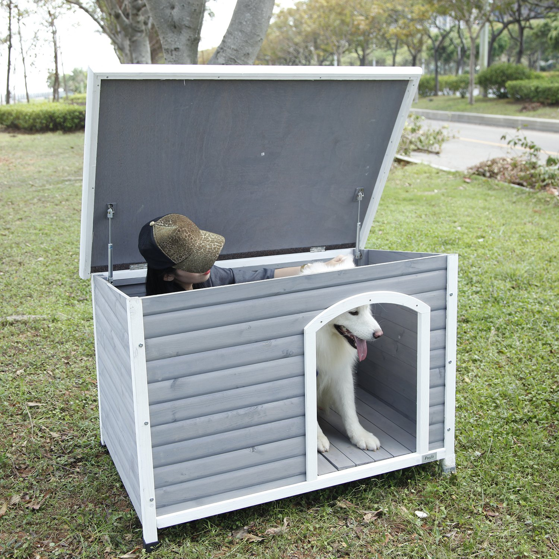 Petsfit Wooden Dog House by Petsfit (Image #8)