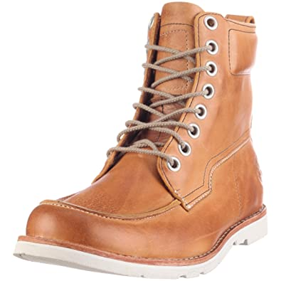 outlet store c0294 c7626 Timberland 6 quot  Moc Toe Boot, Chaussures montantes homme -  Marron ivoire, ...