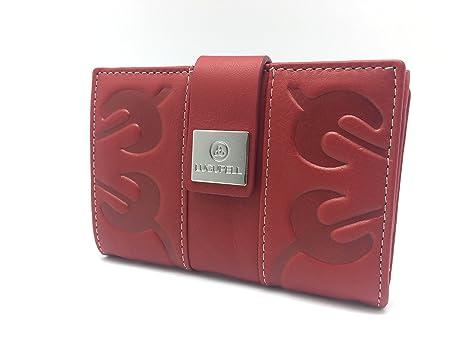 Cartera - Billetero de Piel Lugupell Venezia - Color: Rojo ...