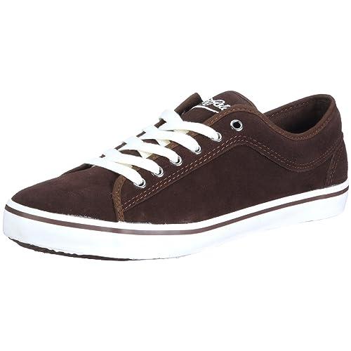 Buffalo 7010-146 Split Leather Brown 50 111186 - Zapatillas de Ante para Hombre, Color marrón, Talla 40: Amazon.es: Zapatos y complementos