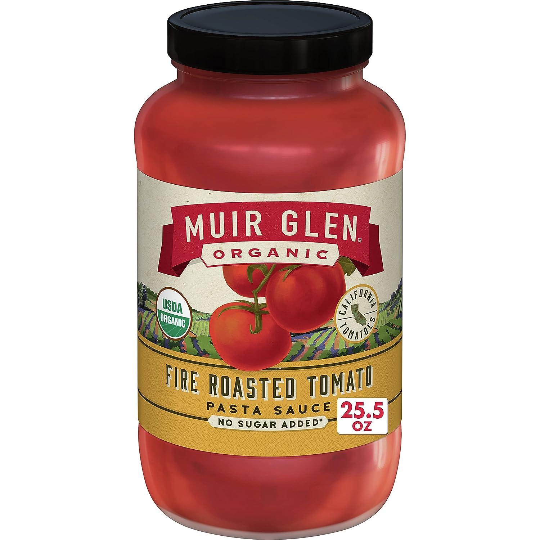 Muir Glen, Organic Fire Roasted Tomato Pasta Sauce, 25.5 oz