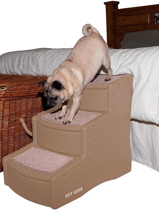 Pet Gear - Escalera para mascotas Easy Step III, tres escalones para gatos y perros.: Amazon.es: Productos para mascotas