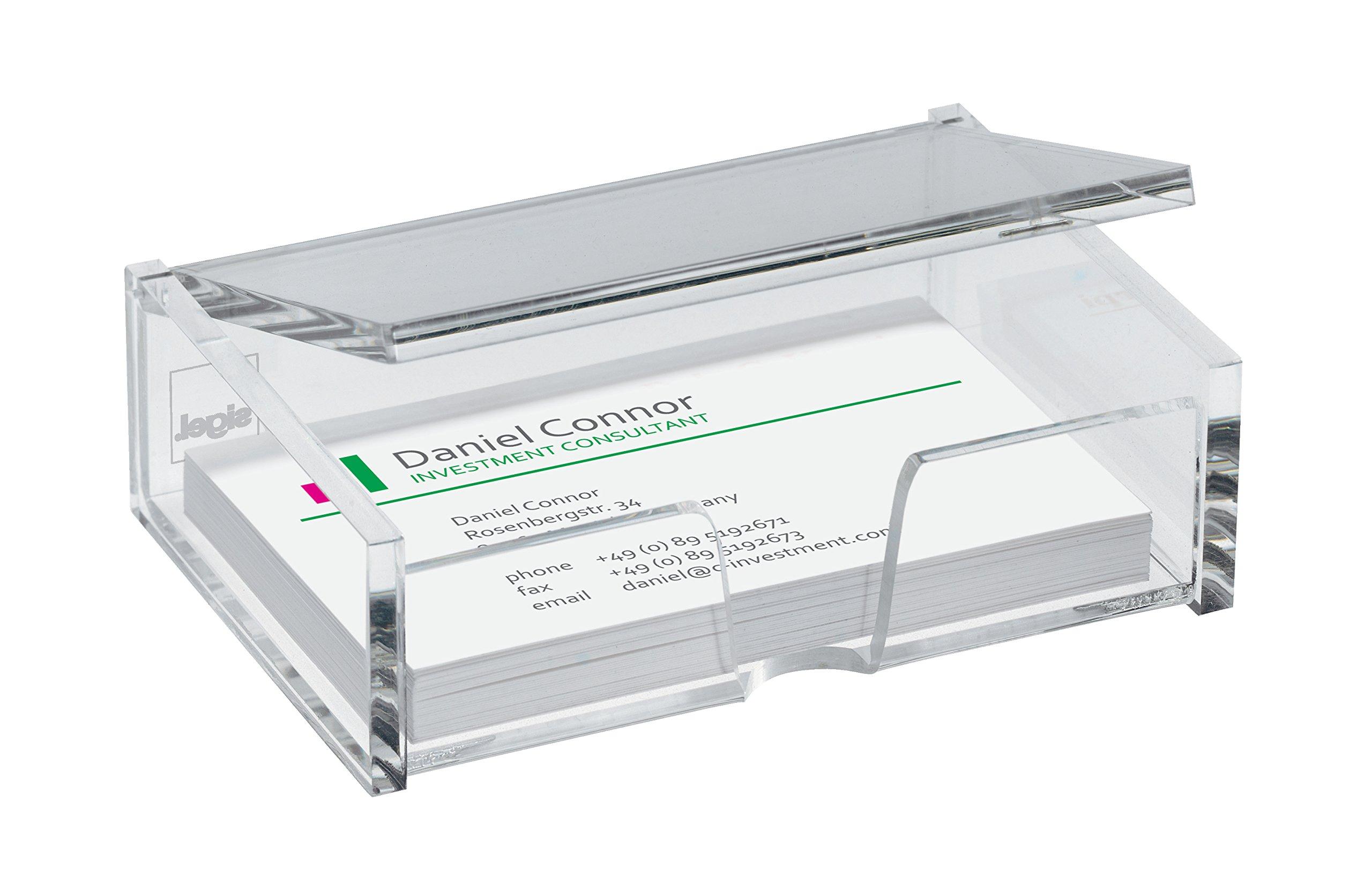Sigel VA112 Porte Cartes De Visite Pour 80 Format 9 X 5