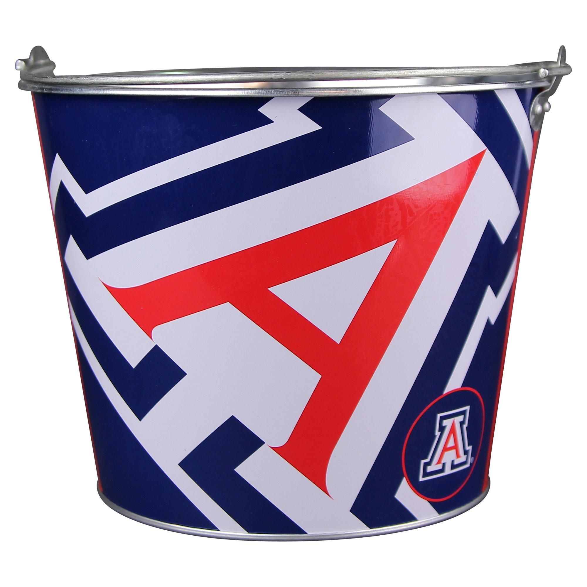 NCAA ''Anthem'' Full Color Team Logo Aluminum Beer Bucket (Arizona Wildcats)