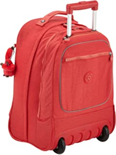 Kipling - Clas Dallin - Sac à dos à roulettes - Mixte - Rouge (Happy Red) - Taille Unique nizbwUfW