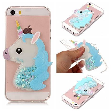 custodia iphone 5c unicorno