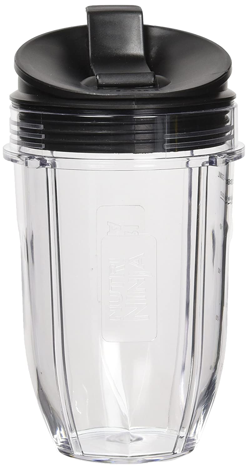 Nutri Ninja Blender Cup 18 Ounce With Sip n Seal Lid Auto IQ Duo Models