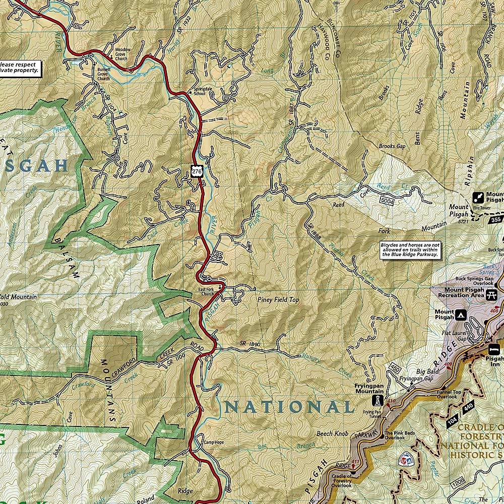 Pisgah Ranger District [Pisgah National Forest] (National ... on ellicott rock wilderness map, pisgah national forest map, linville falls map, highlands nc map, north carolina map, linville gorge map, sliding rock map, roan mountain map, shining rock trail, blue ridge parkway map, looking glass rock map, dupont state forest map, beech mountain map, mount pisgah map,