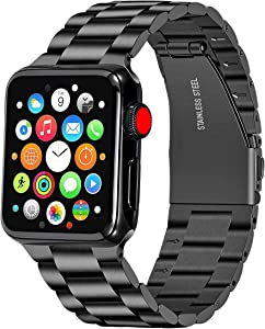 Libra Gemini Compatible for Apple Watch Band 42mm 44mm Replacement Stainless Steel Metal iWatch Band 42mm 44mm series 6/5/4/3/2/1