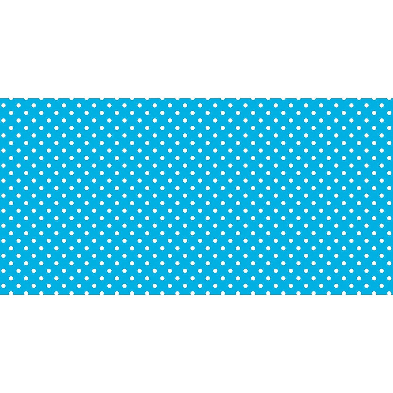 Fadeless 48X50Ft Classic Dots Aqua B014CD1U72 Blue & White Classic Dots Blue & White Classic Dots