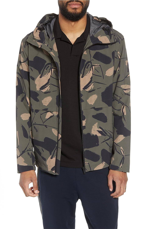 [セオリー] メンズ ジャケットブルゾン Theory Wright Delfine Hooded Jacket [並行輸入品] B07D74NGC5 Small