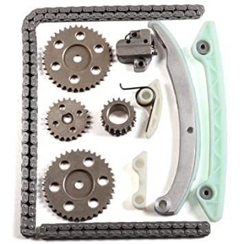 ECCPP Timing Chain Kit Oil Pump Drive Set for Ford Focus 2 0