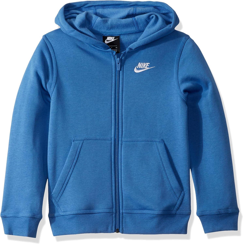 Nike Boys Nsw Club Full Zip Hoodie Hoodie