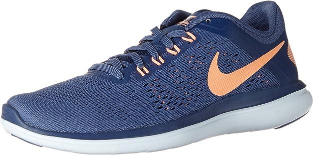 Nike Wmns Flex 2016 RN, Zapatillas de Running para Mujer, (Azul/Naranja/Blue Moon/Sunset Glow/Coastal Blue), 37.5 EU: Amazon.es: Zapatos y complementos