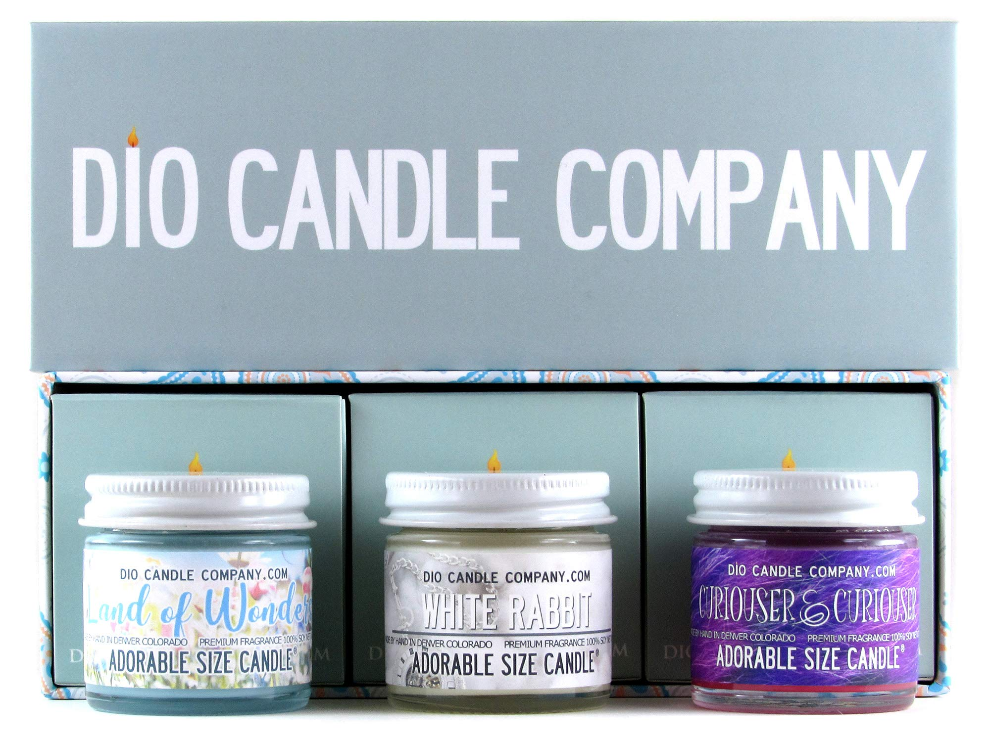 Adorable Size Candle Land of Wonders Collector's Gift Set
