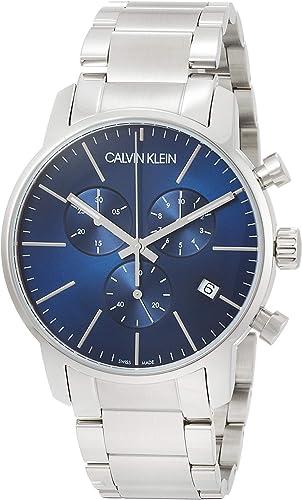 Relógio de quartzo para homem Calvin Klein com correia de aço inoxidável – K2G2714N