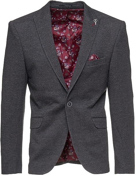 Reslad Herren Sakko Jackett Sweat Blazer Anzug Jacke RS 9010