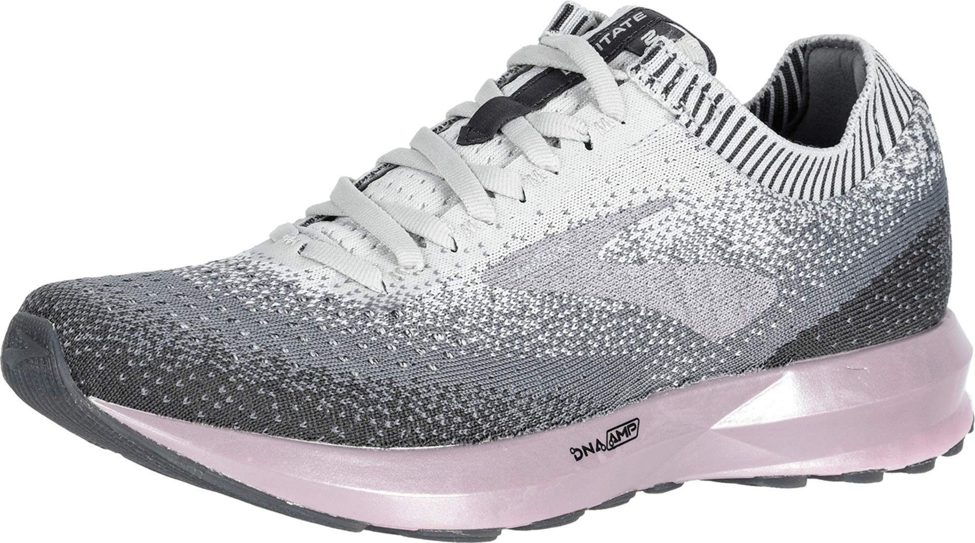 Brooks Women's Levitate 2 Grey/Grey/Rose 9 B US by Brooks