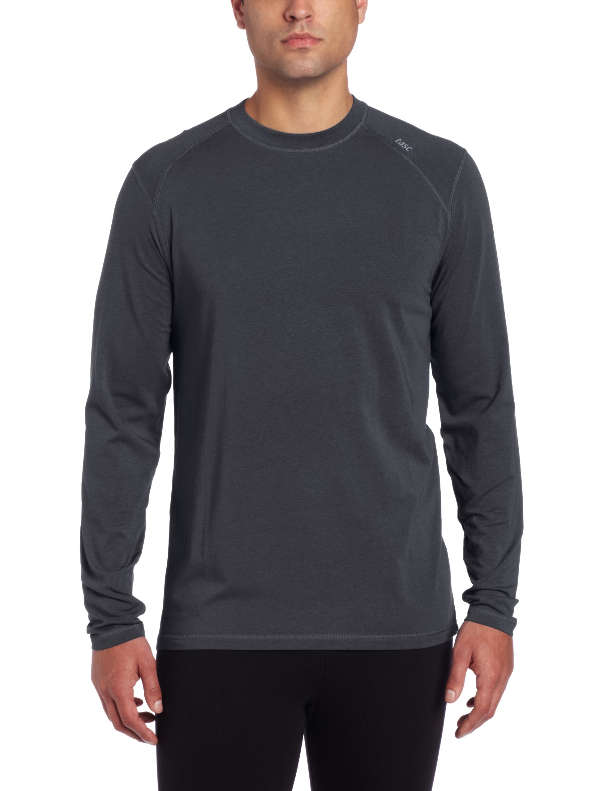 tasc Performance Carrollton Long Sleeve T-Shirt, Gunmetal, Large by tasc Performance
