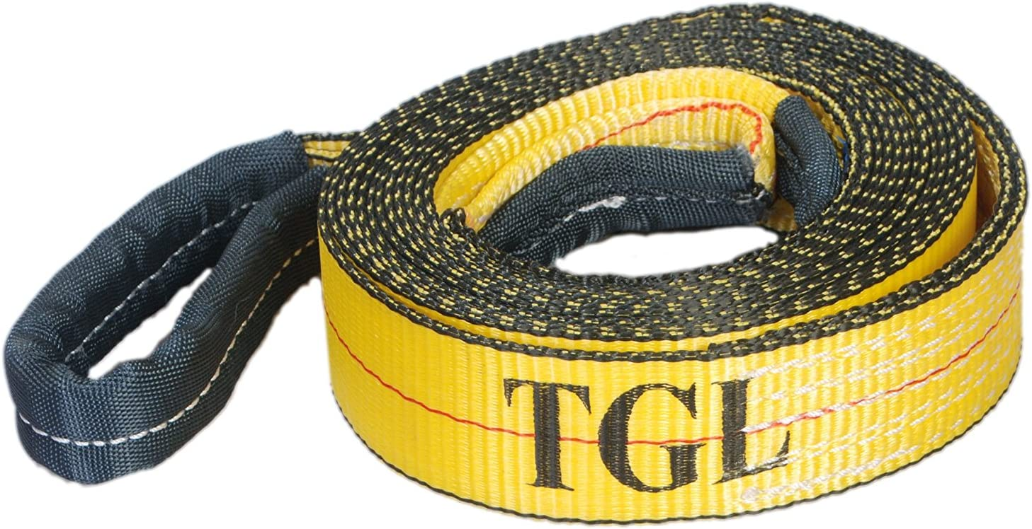 TGL Tow Strap with Reinforced Loops