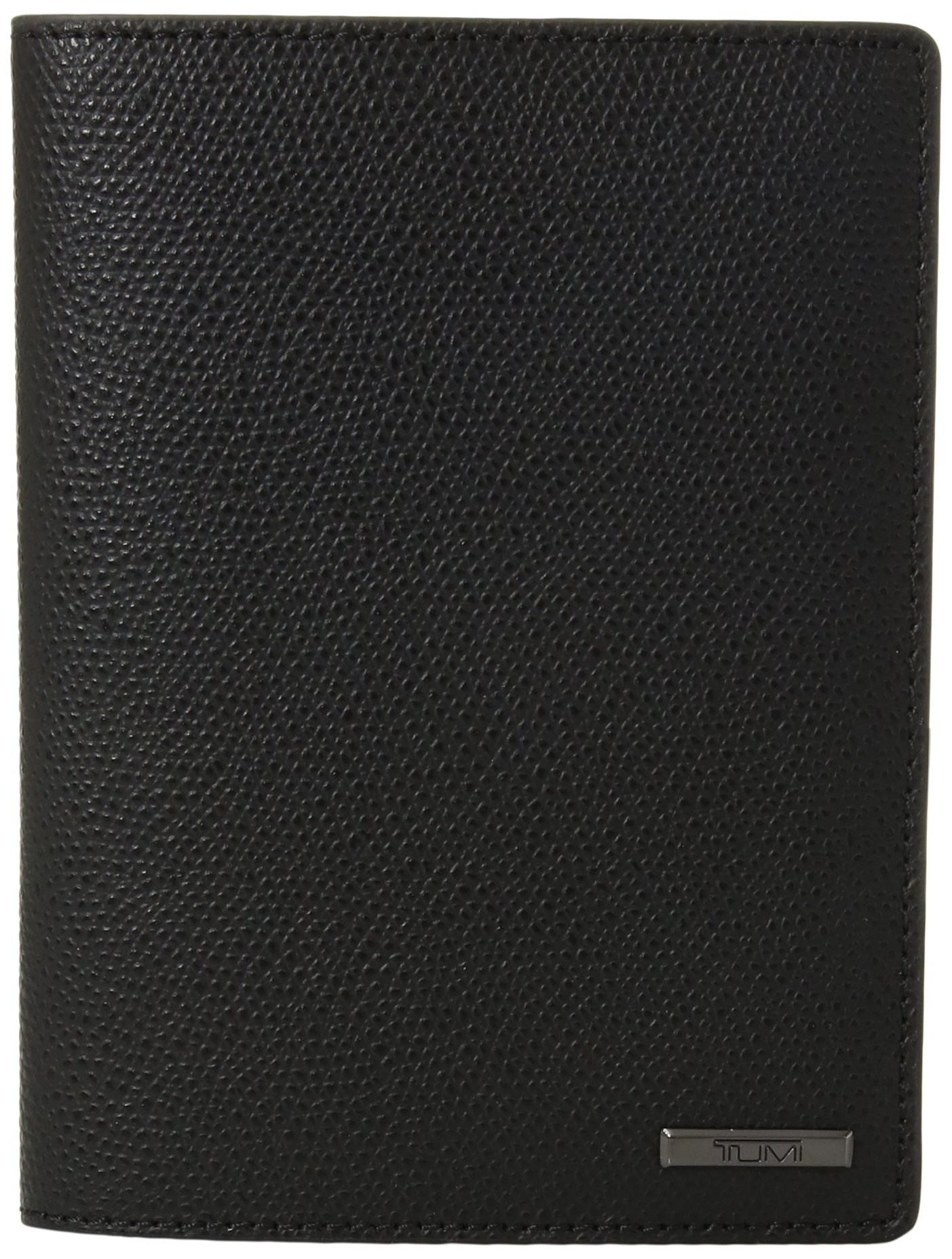 TUMI Unisex-Adult's Province Passport Cover, black One Size