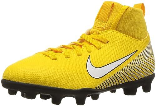 Zapatillas de fútbol Nike Mercurial Superfly 6 Club Neymar Mg Jr AO2888 710 amarillo amarillo