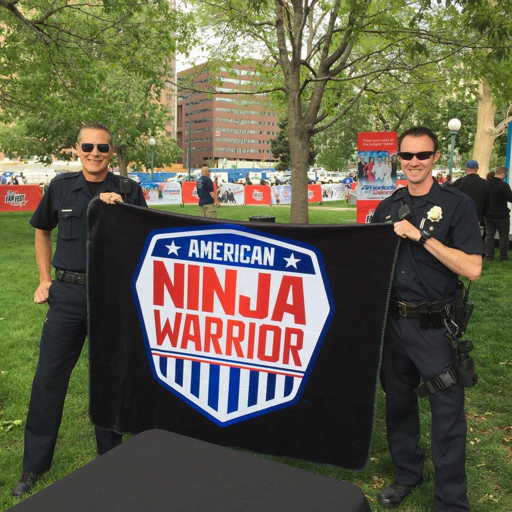 Black 60 x 50 Black 60 x 50 NBC ANW-BLANKET American Ninja Warrior Faux Mink Sherpa Throw Blanket