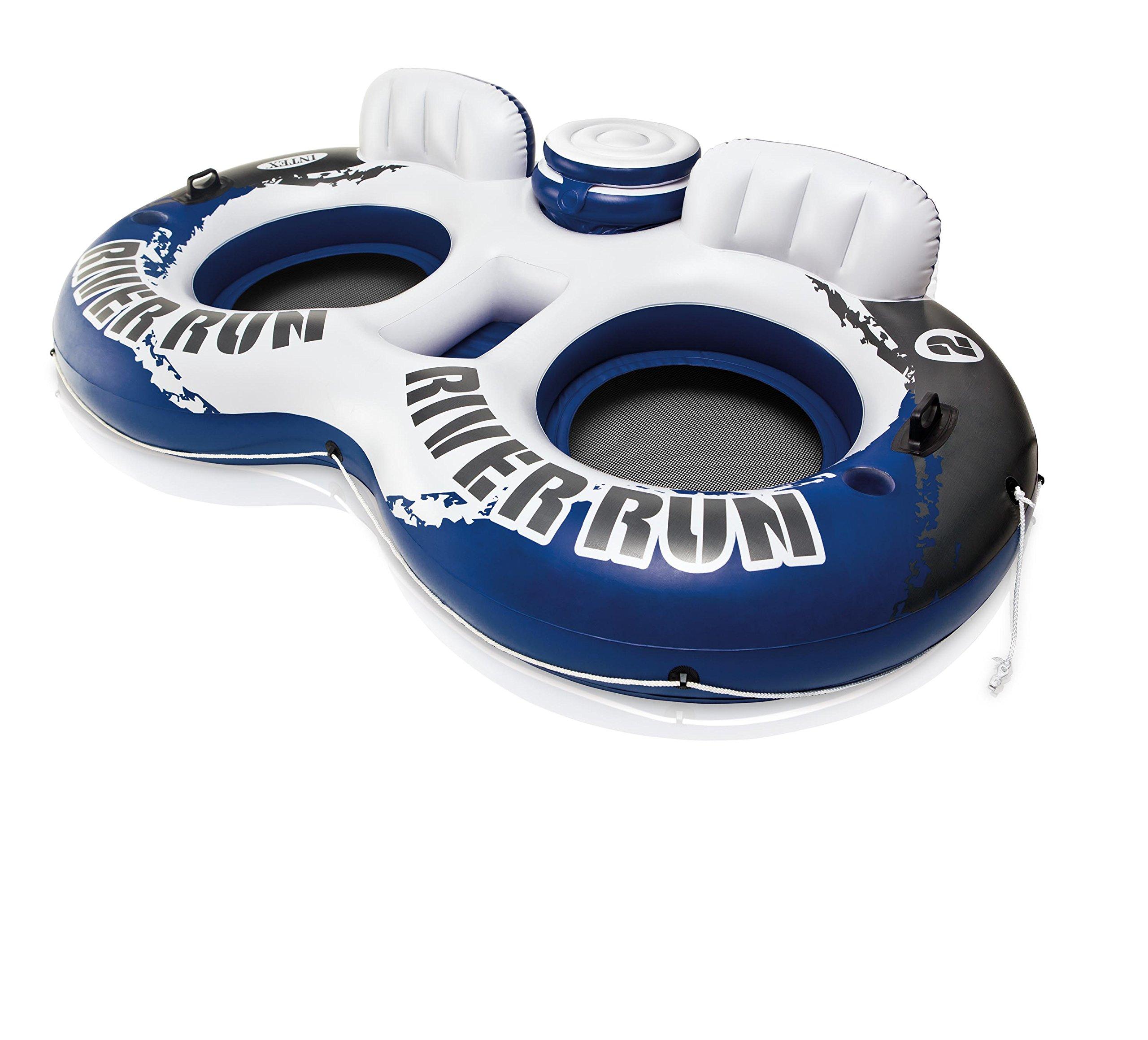 Intex River Run Inflatable Lounger (4 Pack) & Pool Lake Tube Float (2 Pack) by Intex (Image #10)