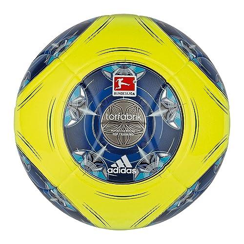 adidas dfl 13 Top - Balón de fútbol, color amarillo, azul y ...