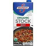 Swanson Organic Stock, Beef, 32 Ounce