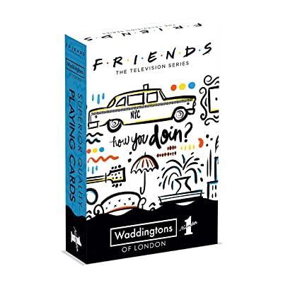 Waddingtons Number 1 Friends Waddingtons Number 1 Playing Cards: Toys & Games