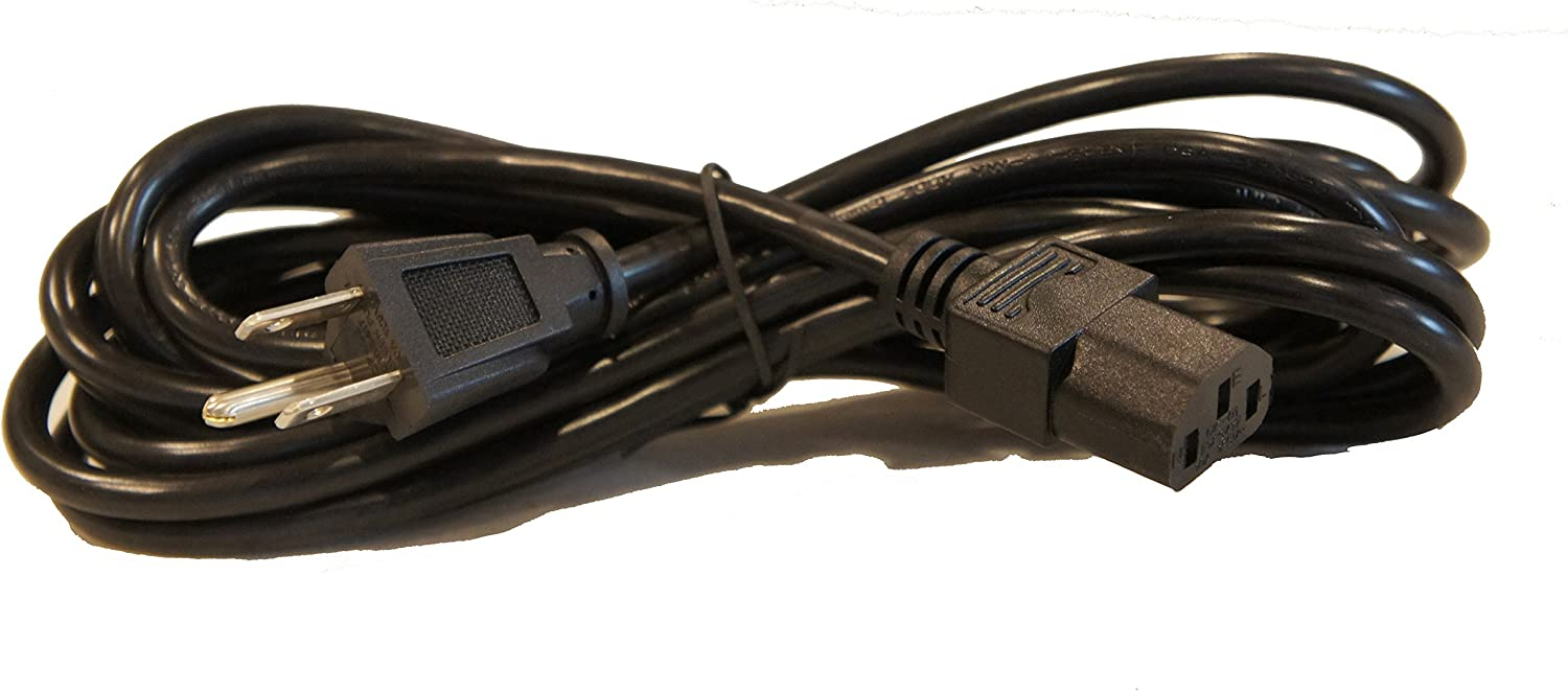15 Foot AC 3 Prong Power Cord for Guitar Amp PC AC Power Cable
