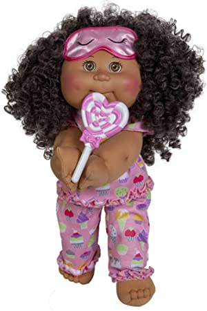 """Cabbage Patch Kids Girl Doll with Lots of Licks' Accessories, 14"""""""