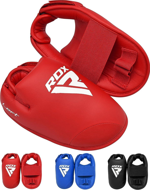 RDX TKD Boots Semi Contact Kickboxing Taekwondo Muay Thai MMA Sparring Karate