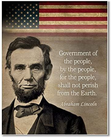 Amazoncom Gabbys Choice Abraham Lincoln Government Of The