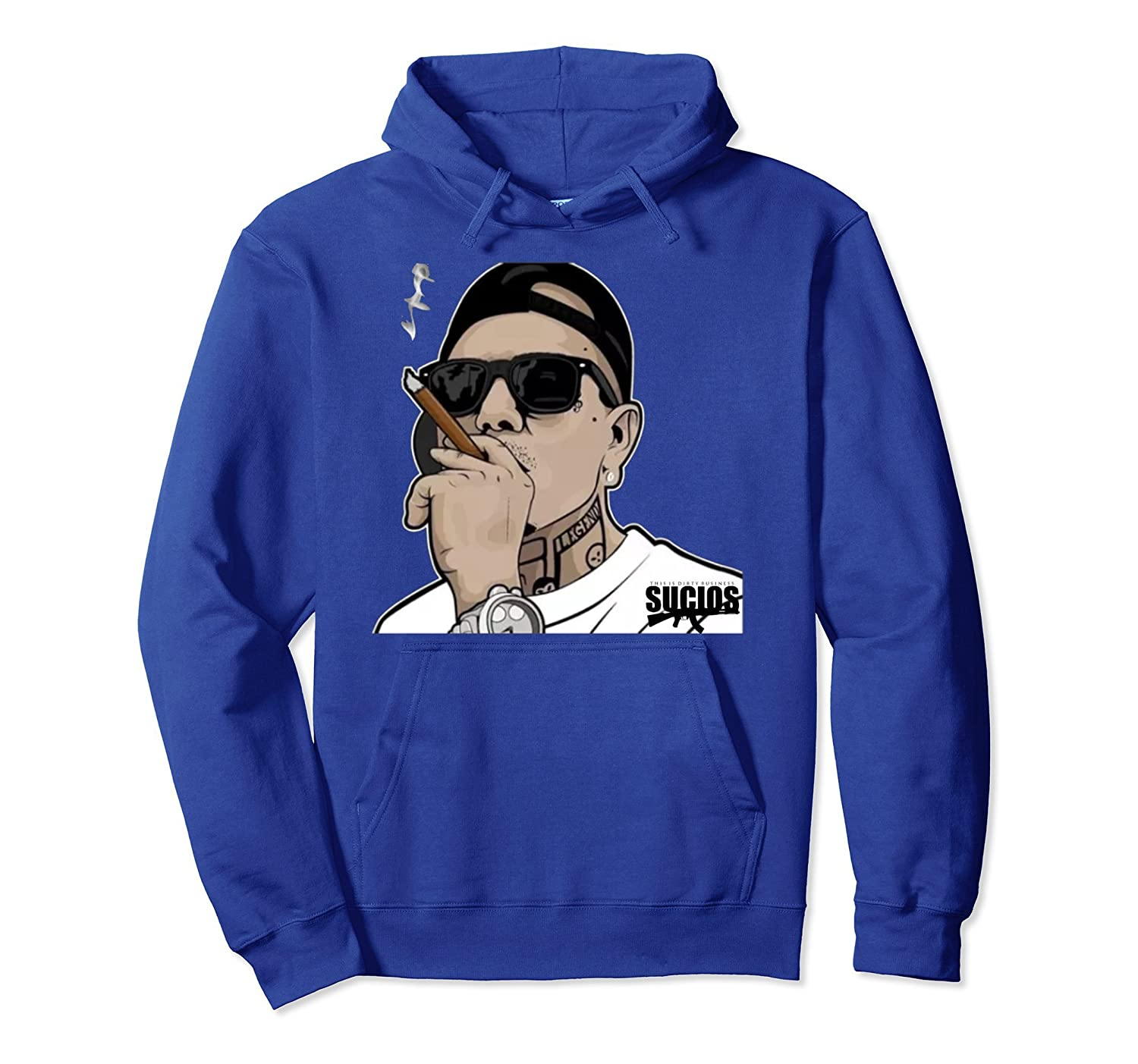 King Lil G Rapper Mexican Rap Pullover Hoodie-Colonhue