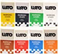Listo 162 Marking Pencils Refill Kit, 72-Refill Leads per Box, Color: Black, Blue, Brown, Green, Orange, Red, White, Yellow - Grease Pencils/China Marking Pencils/Wax Pencils. (8-Pack)