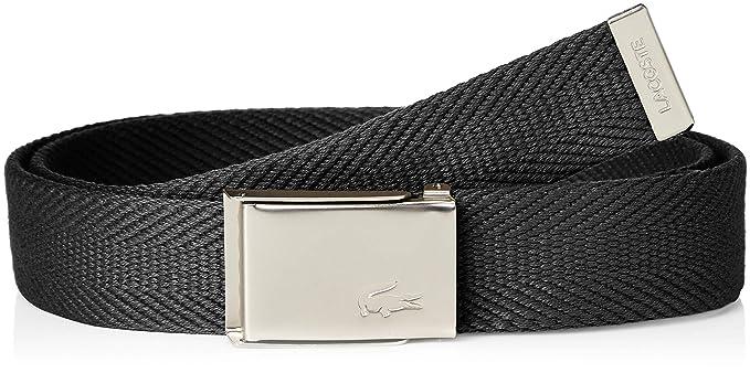 Lacoste - Ceinture - Homme Taille unique - Noir - Taille Unique  Amazon.fr   Vêtements et accessoires 6ad340caa8b