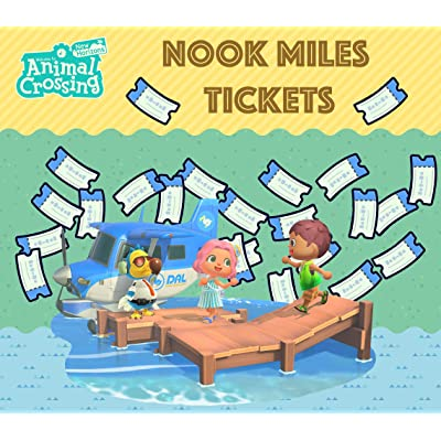 Animal Crossing: New Horizons Nook Miles Tickets: Toys & Games