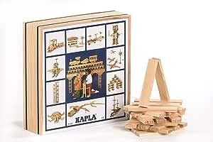 KAPLA C100 KAPLA Juego de construcción, 100 piezas de madera