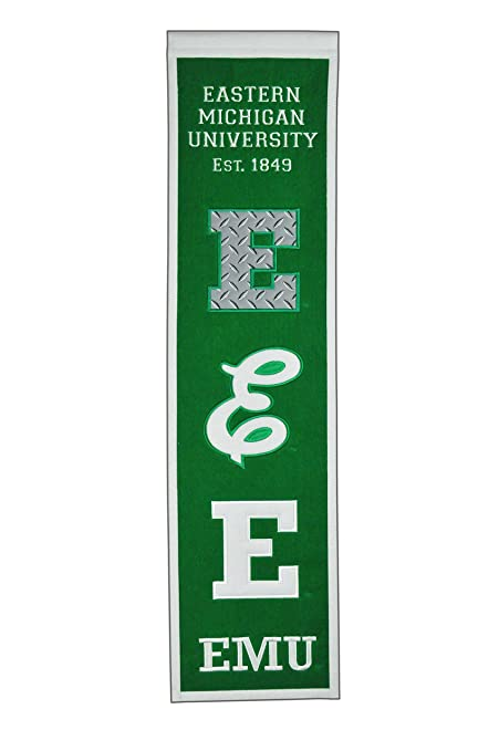 NCAA Eastern Michigan Eagles Heritage Banner