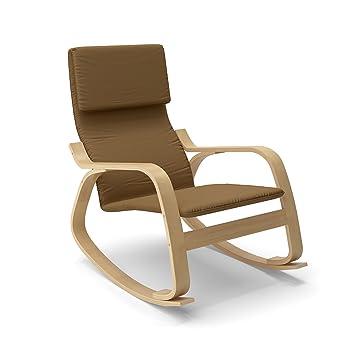 CorLiving LAQ-625-C Aquios Bentwood Contemporary Rocking Chair Warm Brown  sc 1 st  Amazon.com & Amazon.com: CorLiving LAQ-625-C Aquios Bentwood Contemporary Rocking ...