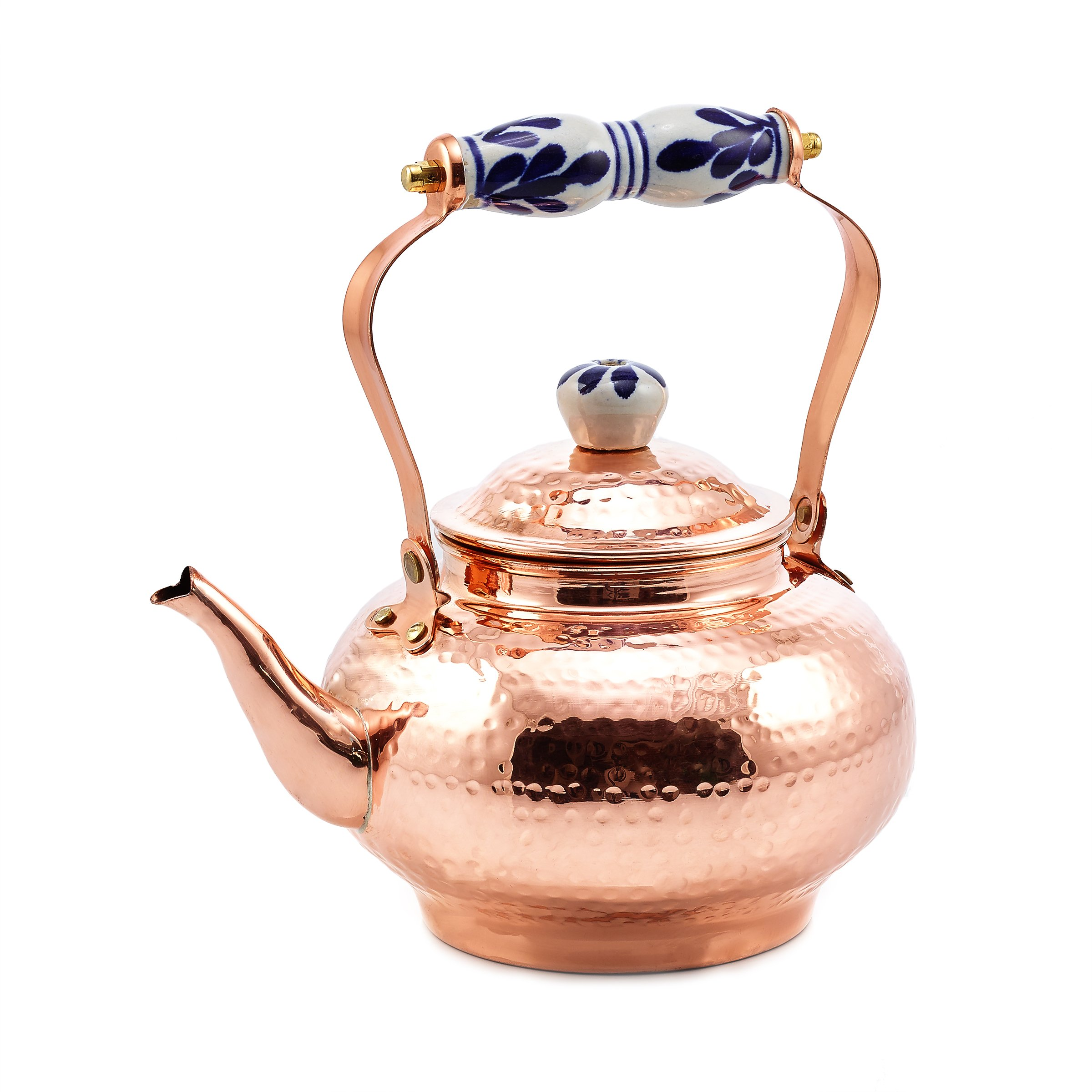 Old Dutch 1868 Tea Kettle 2 quart Copper